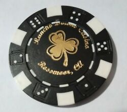Rancho Downs Casino California Error Chip Great For Any Collection