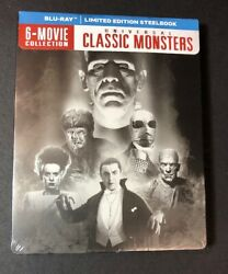 Universal Classic Monsters 6-movie Collection [ Steelbook Pack ] Blu-ray New