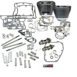 S&S Cycle 900-0354 106in. Big Bore Hot Set Up Kit Harley 2007-'16 Twin Cam Black