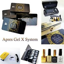 Apres Gel X System And Tips Box All About Apres Gel X - Choose From Menu🔥