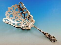 Lily By Watson Sterling Silver Saratoga Chip Server Pierced 7 3/4 Vintage