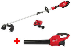 Weed Trimmer Electric Leaf Blower Cordless Kit Milwaukee M18 Battery Charger