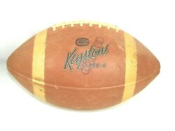 Vintage Pennsylvania Official Keystone General Tire Football Pfk-6 For Display