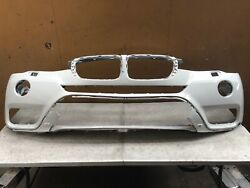 2015 To 2017 Bmw X3 F25 Front Bumper Upper Cover Washer Type Aftermarket Used