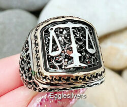 Handmade 925 Sterling Silver Justice Scale Court Lawyer Law Menand039s Womanand039s Ring