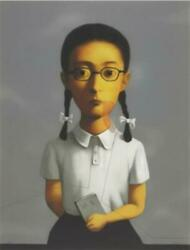 Hand-painted Oil Paintingxiaogang Zhang At Canvas 24x36 Inch