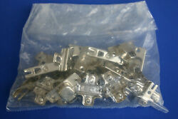 Partial Overlay Hinges Euro Self-closing Concealed Lot Andndash New Andndash Bag Of 8