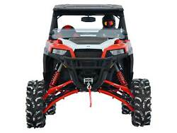 Superatv 7-10 Lift Kit And Rhino 2.0 Axles For Polaris General - Red