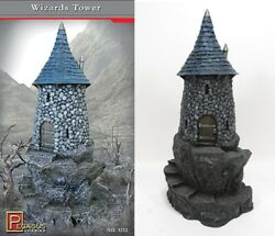 Wizard Tower 28mm Scale 12 Tall Pre-painted Gaming Building 221pg03