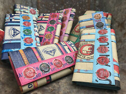 Soda Pop Recycled Clutch With Vintage Bottle Tops Fair Trade Handmade Cambodia
