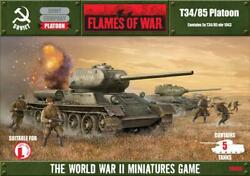 Battlefront FoW WWII Soviet 15mm T3485 Platoon Box NM