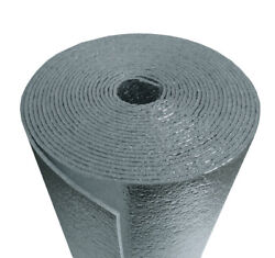 Us Energy 5mm Reflective Foam Core Insulation Radiant Barrier 48and039and039x25ft Roll