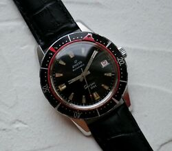 40mm Rare Vintage Enicar Sherpa Dive Seapearl Watch 1950s