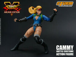 Storm Toys 1/12 Street Fighter V Cammy White Arcade Eidition Action Figure Dolls