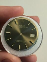 Rolex Taupe Gold Sigma Dial For Vintage Datejust Watch 1600 1601 Pie Pan