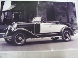 1929 Studebaker President 8 Roadster  11 X 17 Photo Picture 2