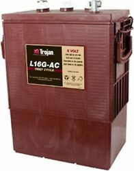 REPLACEMENT BATTERY FOR TROJAN L16G-AC 6V