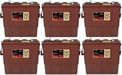 Replacement Battery For Trojan L16hg-ac-6-pack 36v