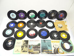 Mixed Lot 45rpm Parlophone Fonit Fleetwoods Disney Land Looby Lou Coral Records