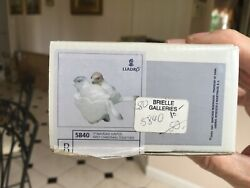 Lladro Santa's Workshop Christmas Ornament 5840 First Christmas Together In Box