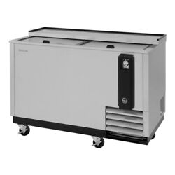 Turbo Air Tbc-50sd-n6 2 Lids Stainless Steel Exterior Bottle Cooler