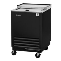 Turbo Air Tbc-24sb-gf-n6 1 Lid Black Vinyl Exterior Glass Chiller And Froster