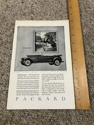 Vintage Print Auto Car Ad Packard With Horse General Motors Towns 1926-nat Geo