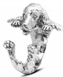Dog Fever Sterling Silver English Cocker Spaniel Ring Free Shipping