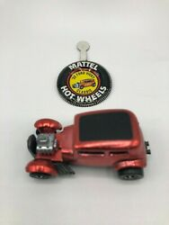 Hot Wheels Redline 32 Ford Vicky Comes With Original Tin Badge With