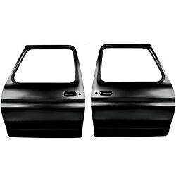 19731979 Ford Truck Door Shell Edp Coated Steel Pair Right And Left Side Dynacorn