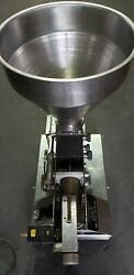 Goodway Pfiot Muffin Depositor With Table Sn 1102 Very Good Condition 1800