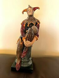 Royal Doulton The Jester Porcelain Figurine H.n.2016 Made In England