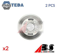 2x ABS REAR BRAKE DRUM PAIR SET 2860-S P NEW OE REPLACEMENT
