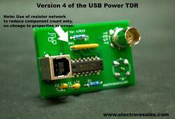 Tdr Time Domain Reflectometer. Fast Clock Usb Power. Detect Cable Faults And More