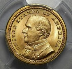 1903 Pcgs Ms65 Mckinley Louisiana Purchase Gold Dollar Commemorative