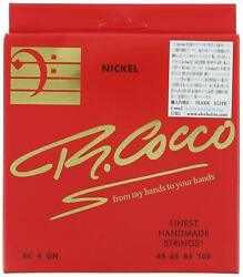 R. Cocco Japan Bass String Rc 4 G N Nickel Round Wound Long Scale 045 - 105
