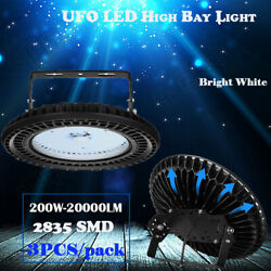 3X 200W Watt LED High Bay Light Industrial Warehouse Factory Commercial Light