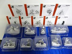 Complete Collection Tintin 9 Figurines La Collection Officielle Hors-serie