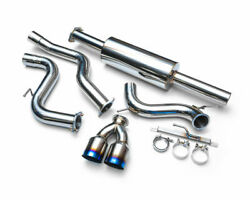 Agency Power Stainless Steel Exhaust W/ Titanium Tips For 13-17 Ford Focus St