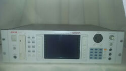 Akai S6000 Sampler 256mb Hdd 146gb Scsi Fdd 8x Outs 64 Vox Os 2.14