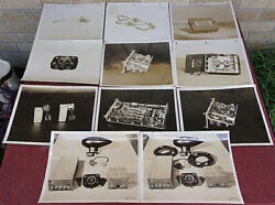 11 Late 1930and039s Rca Aircraft Electronic Equipment Radio Photos 8 X 10 Pre Ww2
