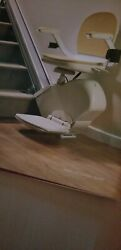 Acorn Superglide 130 Straight Stairlift Folding Swivel Chair Remote 8 Track