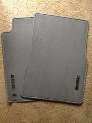 New Nos 2007 Ford Mustang Shelby Gt Gray Carpeted Front Floor Mats - Original