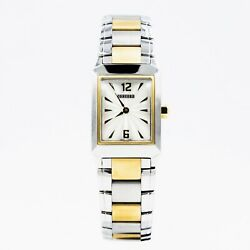 Concord Carlton 18k Gold Stainless Steel Womenand039s Quartz Battery 15.25.1422