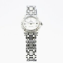 Concord Saratoga Sl Mosaic Dial Stainless Steel Womenand039s Quartz Watch 14.36.275