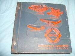 Richards And Conover Hardware Company Expandable Binder With Catalog And Manuals And03954