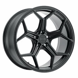 Xo Luxury Helsinki 19x8.5 +42 Matte Black Wheel 5x112 Qty 4
