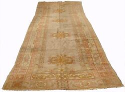 A 17 Ft Long And Wide Antique Runner Rug With Muted Tones