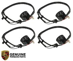 Set Of 4 Power Seat Switch Front Left And Right Genuine For Porsche 911 928 944