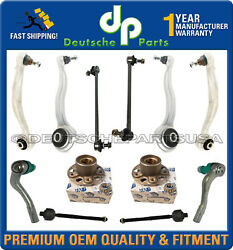 Mercedes W204 Front Control Arms Ball Joints Wheel Hub Bearing Suspension Kit